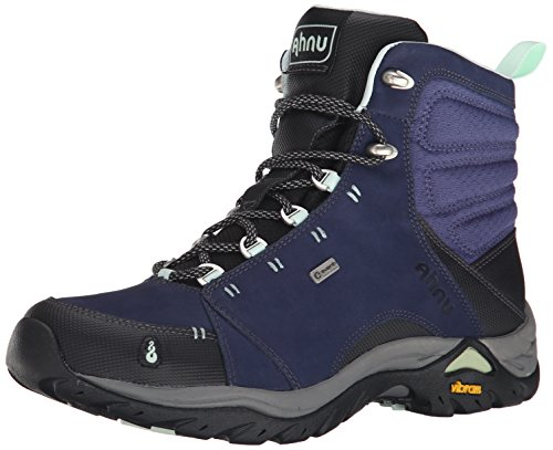 Ahnu Women's Montara Waterproof Boot,Midnight Blue,7.5 M US by Ahnu