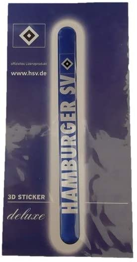 blau 29211 Brauns Hamburger SV Autoaufkleber Wings