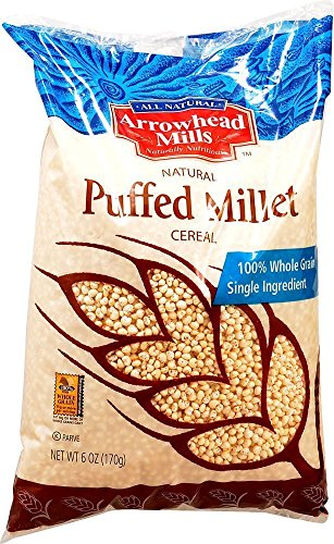 Arrowhead Mills Cereal Puffed Millet-6 oz (Pack of 2) ()