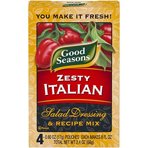 Good Seasons Zesty Italian Salad Dressing & Recipe Mix (2.4 oz Packet)