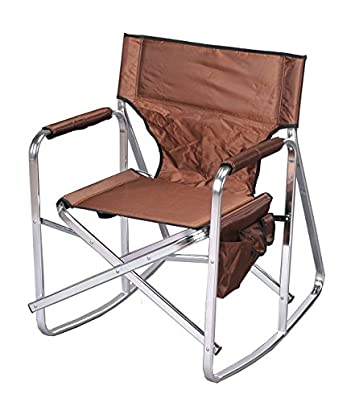 Stylish Camping Rocking Full Back Folding Director s Chairs