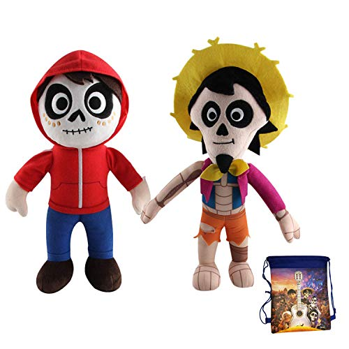 Muzboo Coco Plush Toy-Miguel Rivera and Hector Stuffed Toys.