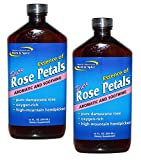 North American Herb and Spice Aromatic and Soothing Essence of Rose Petals, 12oz. (Pack of 2)