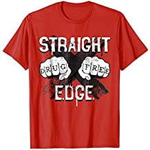 Drug Free Youth All Ages Show Straight Edge Hardcore Shirt