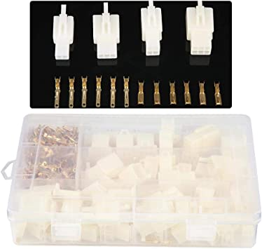 380pcs//set Car Motorcycle Electrical 2.8mm 2 3 4 6 Pins Wire Terminal Connector