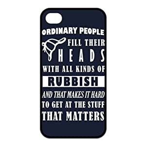 iPhone 4/4S Case, Sherlock Hard TPU Rubber Snap-on Case for iPhone 4 / 4S