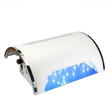 AHUO Secador De Uñas con Luz Ultravioleta Profesional para Uñas, 54 Vatios, Removedor De