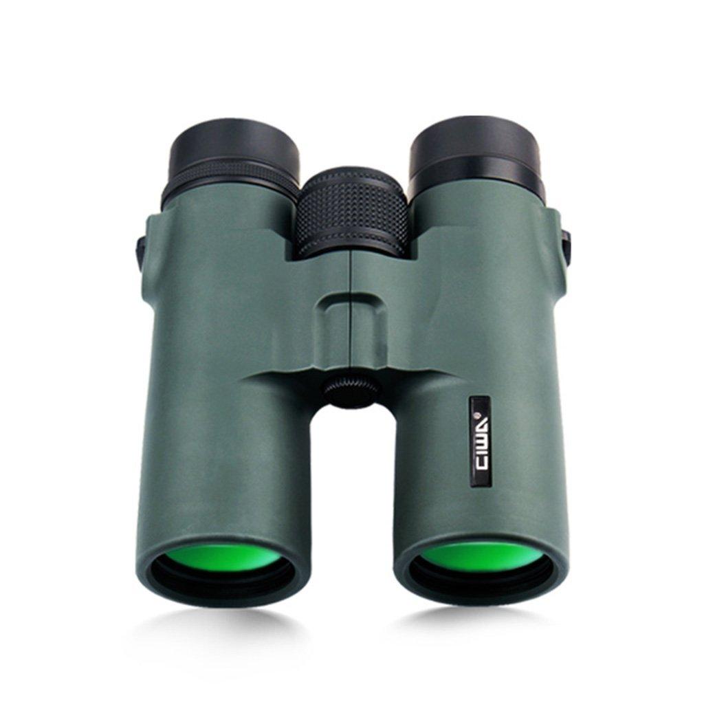 双眼鏡8 x 42 HDハイパワー双眼鏡HDナイトビジョン人間の視点ミニチャイルドボーイアダルト双眼鏡コンサートの望遠鏡 (Color : Green) B07FSCQZPQ  Green