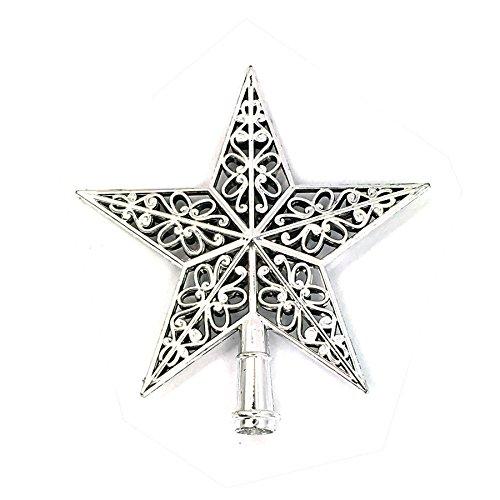 Zalanala Christmas Decorations Christmas Tree Top Sparkle Stars Hang Xmas Decoration Ornament Treetop Topper