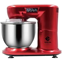 Family Care Robot de Cocina Batidora Amasadora Repostería de 1000 W de Potencia. Acero Inoxidable. Color Rojo