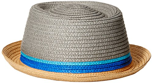 Perry Ellis Braided Straw Porkpie