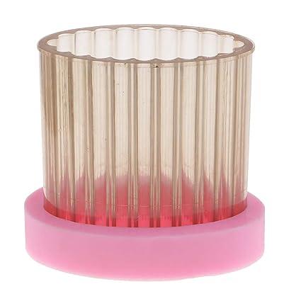 F Fityle Molde de Silicona Forma de Encaje para Resina Artesanía de Arcilla, para Hacer
