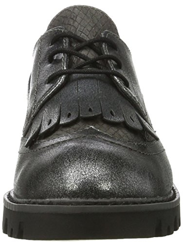 Donna Tamaris Grigio Comb 23665 graphite Oxfords xR4O4EwaT
