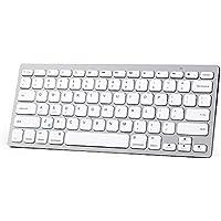 Anker Bluetooth Ultra-Slim Keyboard for iPad Air 2 / Air, iPad Pro, iPad mini 4 / 3 / 2 / 1, iPad 4 / 3 / 2 , New iPad 9.7(2018/ 2017), Galaxy Tabs and Other Mobile Devices (White)