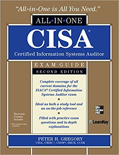 Amazon cisa certified information systems auditor all in one amazon cisa certified information systems auditor all in one exam guide 2nd edition ebook peter h gregory kindle store fandeluxe Gallery