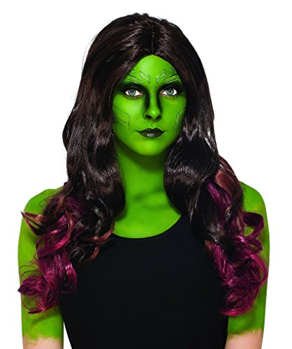 Adult size Guardians of the Galaxy Gamora Wig