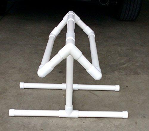 COOL SADDLE RACKS White PVC