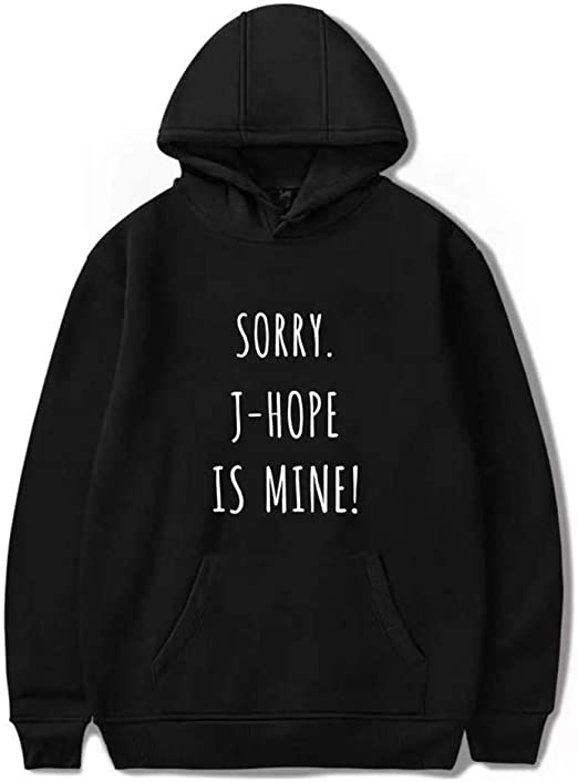 BTS Sorry Jung Kook is Mine Fashion Hoodie Sweatshirt Korea Bangtan RM Hoodies Sweatshirt A3, XXS