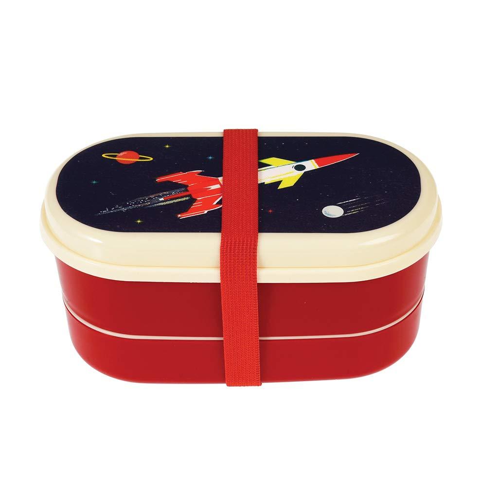 Childrens Reusable BPA Free Space Age Bento Box