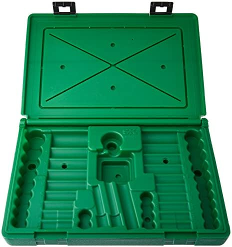 SK Hand Tool ABOX-94547 Blow-molded replacement case for 94547, 94547-12 and 94549 3 8 Drive Socket Sets, Green