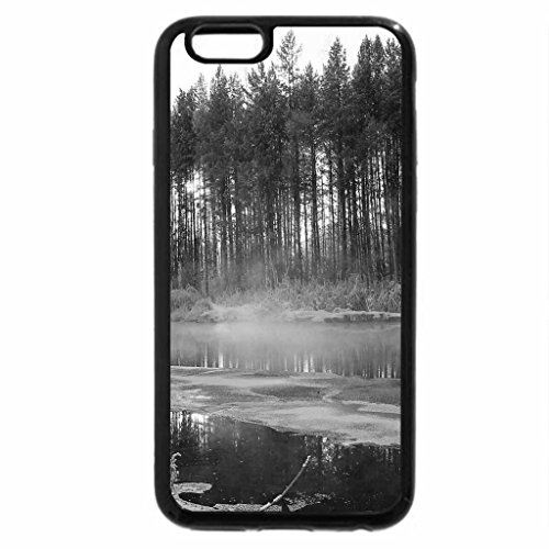 iPhone 6S Case, iPhone 6 Case (Black & White) - Winter river