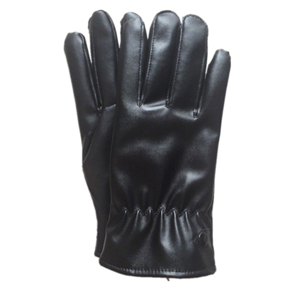 ZYPMM Nuovi uomini dei guanti della fodera super soft, guanti invernali all'aperto, guanti caldi guanti da guida in pelle