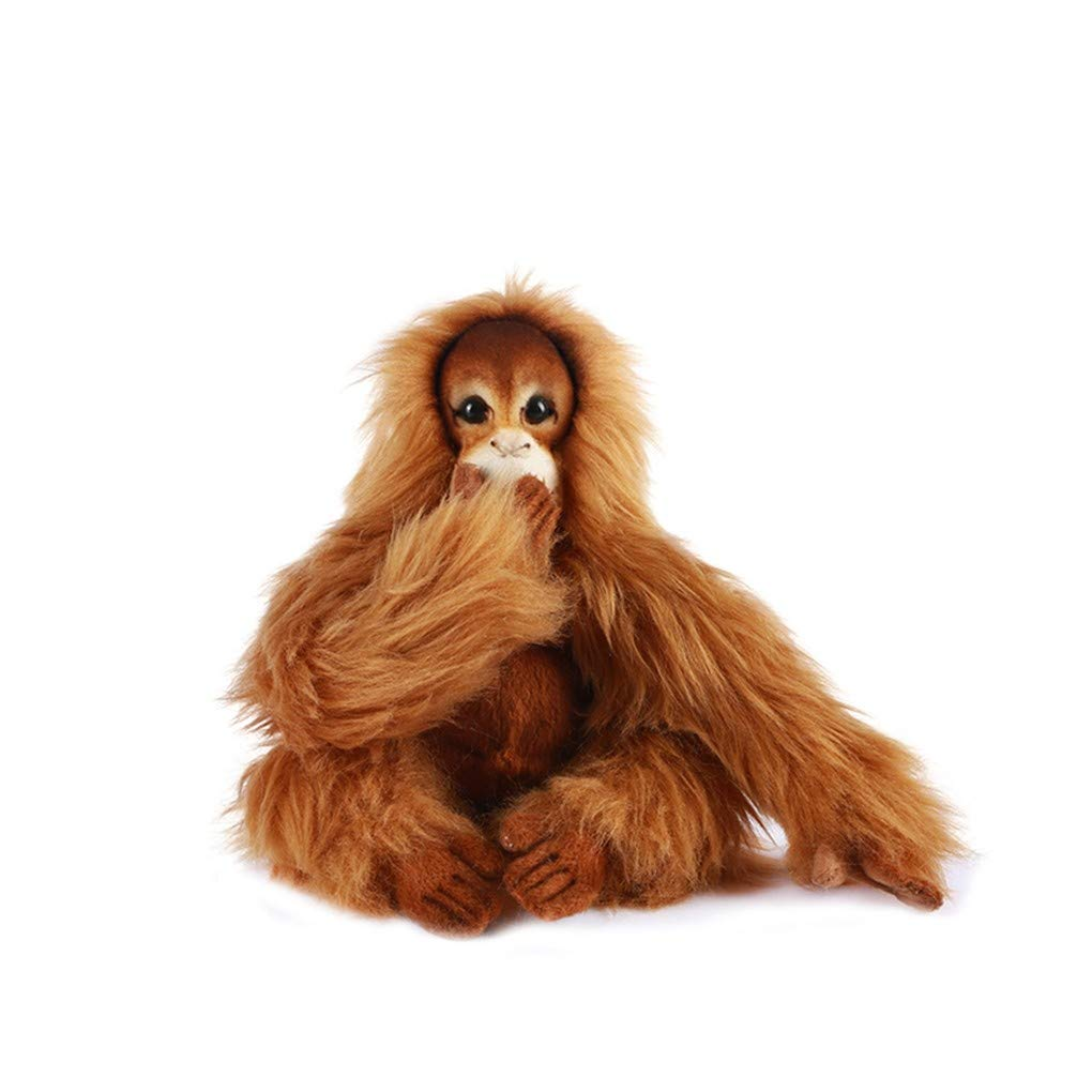 Naughty baby Orang-Utan Puppenkind-Geschenkaffe Des Simulationsplüschspielzeugs Netter