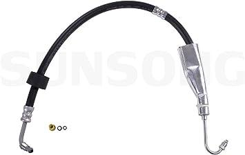 2 Pack Sunsong 3402638 Power Steering Pressure Line Hose Assembly