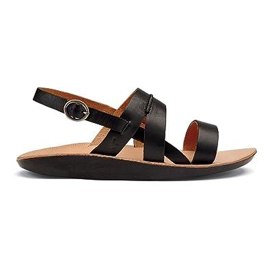 04eba052afb7e9 OLUKAI Women s Loea Sandal Black Black Sandal 6 B ...