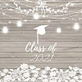 CLASS of 2021: RUSTIC Graduation Guest Book for