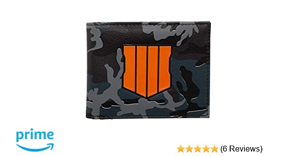 Call of Duty 4 Black Ops Chrome Weld Camo Video Game Gift Boxed Bifold Wallet