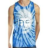 Yoga Clothing For You Mens Buddha Tie Dye Tank Top