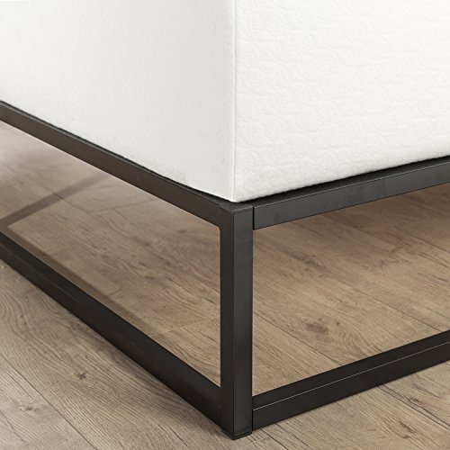 zinus modern studio 10 inch platforma low profile bed frame mattress foundation boxspring. Black Bedroom Furniture Sets. Home Design Ideas