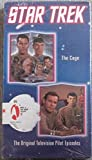 Star Trek - The Original Series, Episode 1: The Cage &  Episode 2:Where No Man Has Gone Before [VHS]