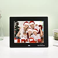 MYOLDTIME - 8 inch Hi-Res(IPS 1024x768) Digital Photo Frame