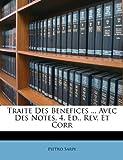 Traite des Benefices Avec des Notes 4 Ed , Rev et Corr, Pietro Sarpi, 1286433649