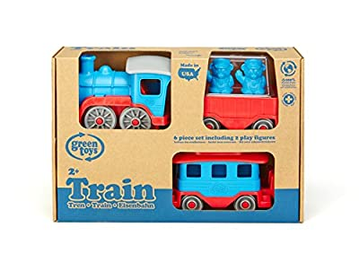 Green Toys Train, Blue/Red by Green Toys