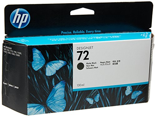 HP 72 (C9403A) Matt Black OEM Genuine Inkjet/Ink Cartridge (130 ml) - Retail