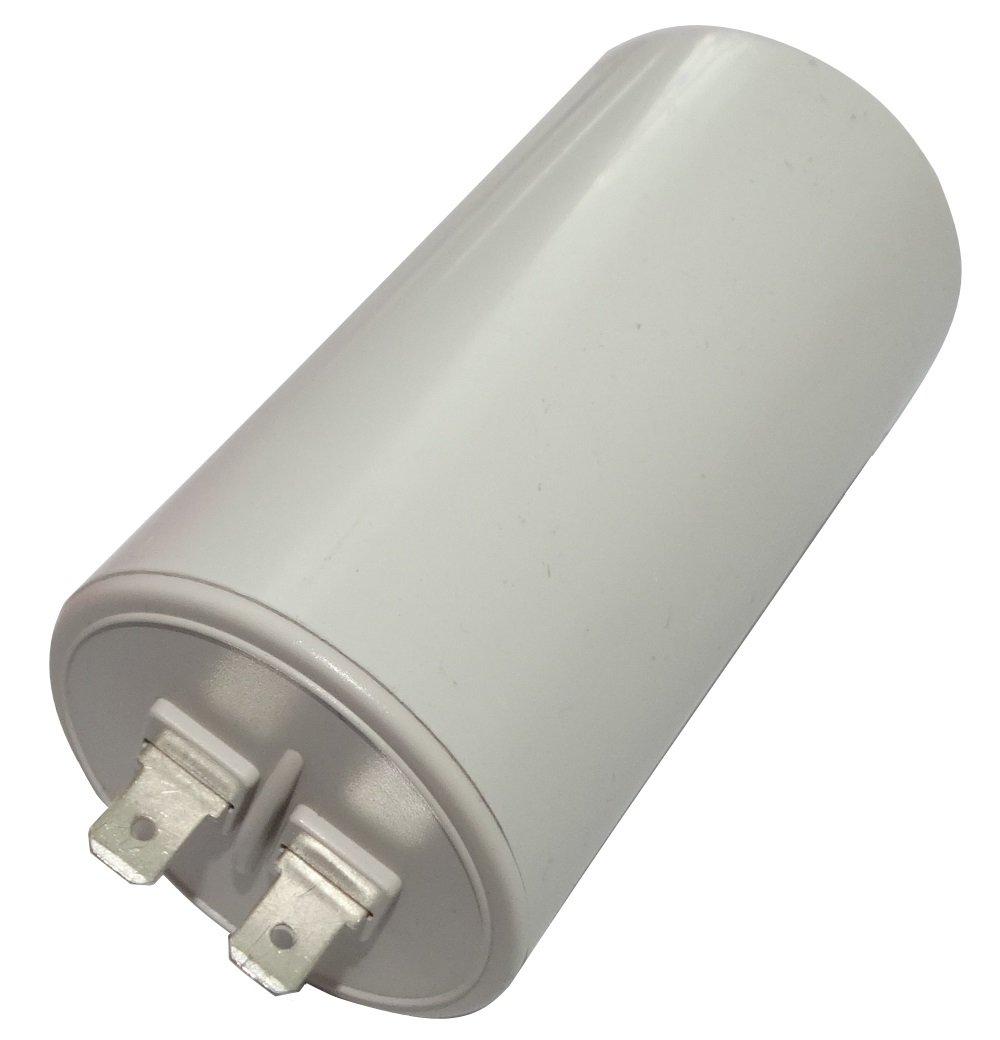 Aerzetix: Condensateur permanent de travail pour moteur 25µ F 450V avec cosses Ø 45x83mm ± 10% 10000h C18744 C18744-AL733