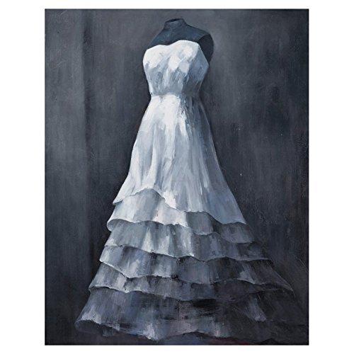 Bassett Mirror 7300-117EC ''Wedding Gown'' Canvas Wrap by Bassett Mirror Company