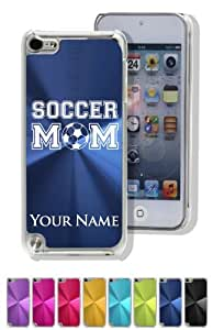 iPod 5 Case/Cover - SOCCER MOM / SPORT - Personalized for FREE (Click the CONTACT SELLER button after purchase and send a message with your case color and engraving request)