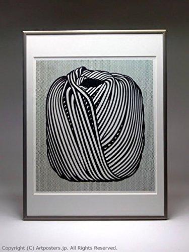 ロイ リキテンシュタイン 額付ポスターポップアート 額装品 ステン B005LN2XLKステン