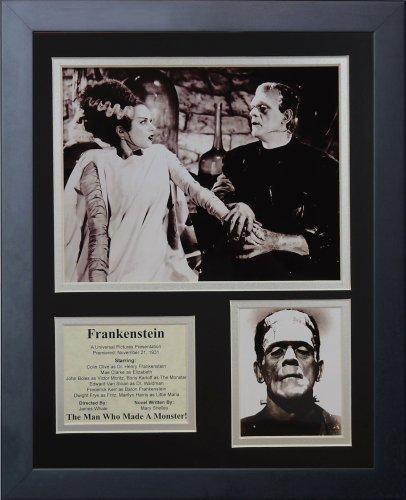 """Legenden Sterben Nie """"Die Braut von Frankenstein..."""" gerahmtes Foto Collage, 11 x 35,6 cm von Legends Never Die"""