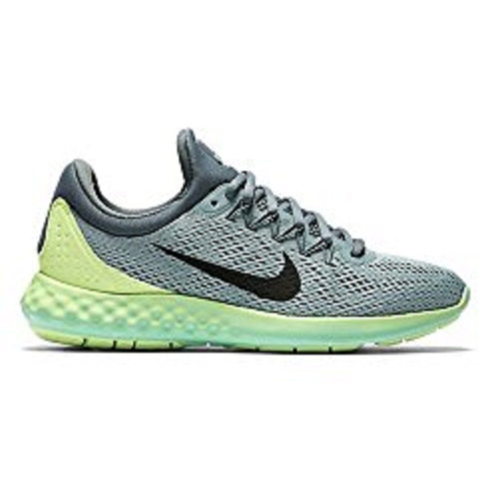 NIKE Womens Lunar Skyelux Round Toe Lace-up Running Shoes B01CJ3NBTM 7.5 B(M) US|Cannon/ Ghost Green