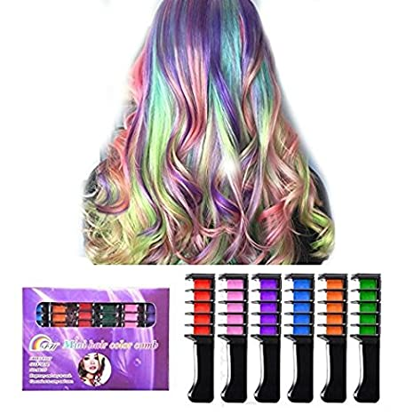 Best Hair Coloring Products: Hair Chalk, Ociga Temporary Hair Color ...