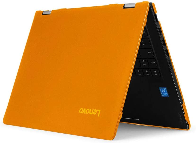 "mCover Hard Shell Case for 15.6"" Lenovo Yoga 730 (15) Series 2-in-1 Laptop (Yoga_730_15 Orange)"