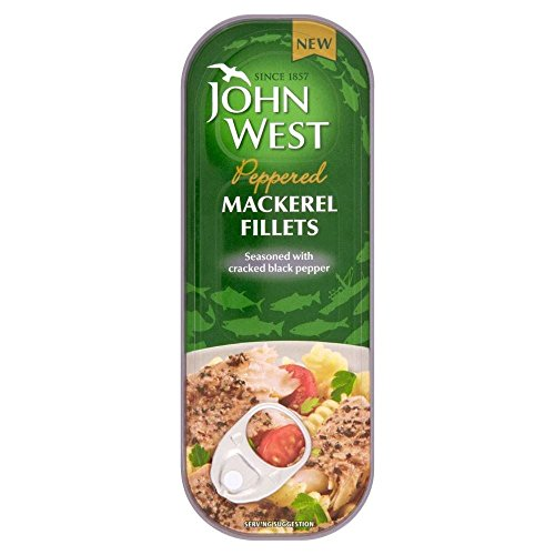 John West Peppered Mackerel Fillets (110g) Peppered Mackerel
