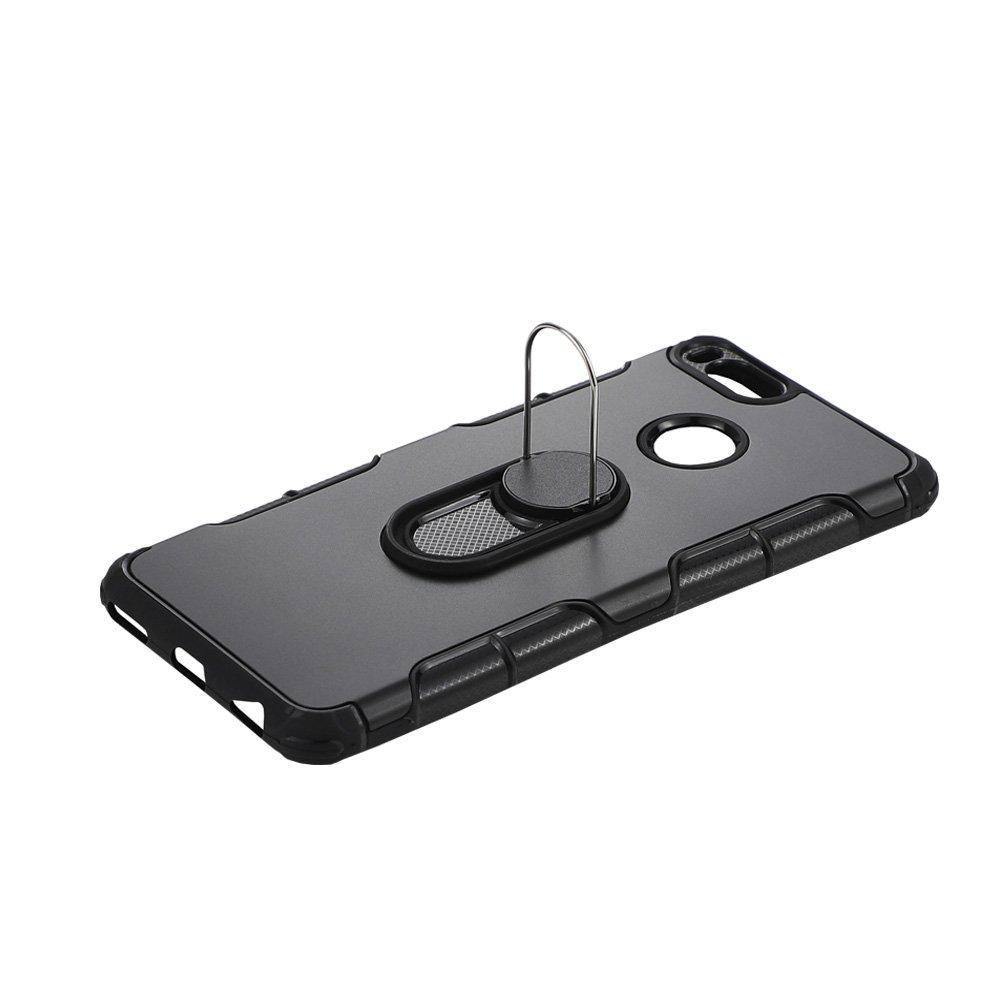 Xiaomi Mi 5X Case, Xiaomi Mi A1 Case, 360 Amor Ring Holder Stand Case [Kickstand & Magnetic Car Mount] Shockproof Slim Cover for Xiaomi Mi 5X, Mi A1 ...