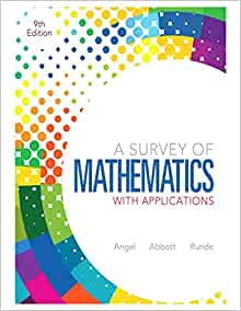 a survey of mathematics with applications 9th edition free download