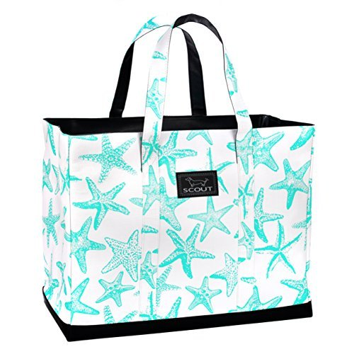 Best Price! SCOUT ORIGINAL DEANO Tote Bag, Water Resistant Large Tote Bag for Women (Multiple Patterns Available) (Dancing with the Starfish)